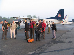 Kathmadu Airport Boarding The Flight To Lukla