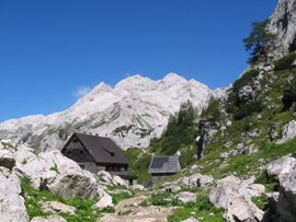 Triglav and the Vodnikov Mountain Hut